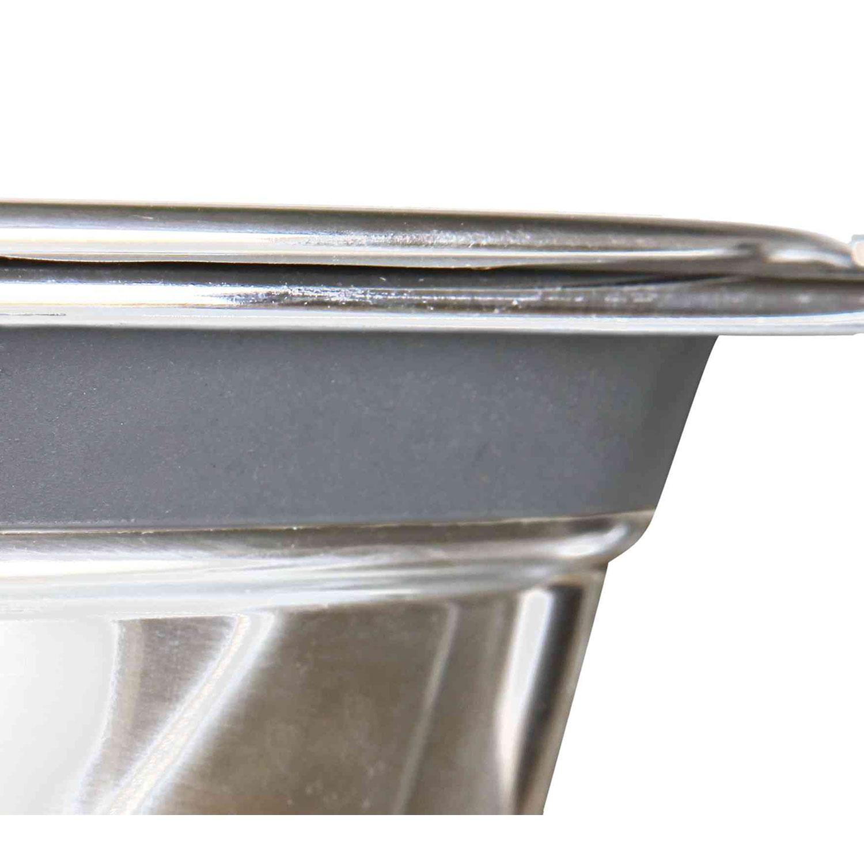 21 cm 1.5 l Trixie 25233 Comedero Doble Acero Inoxidable